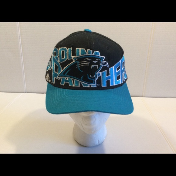 Vtg Carolina Panthers Apex One Men s SnapBack Cap bdbb86d53